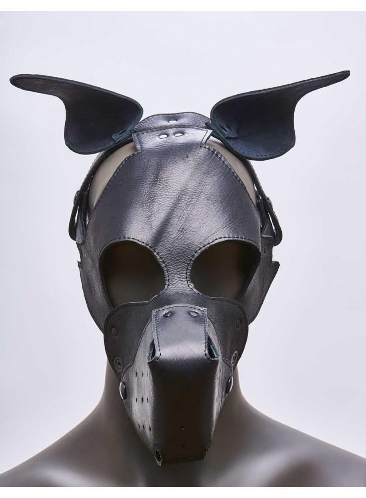 Mask k-9 chien 665 Leather