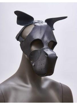 Mask k-9 chien 665 Leather côté