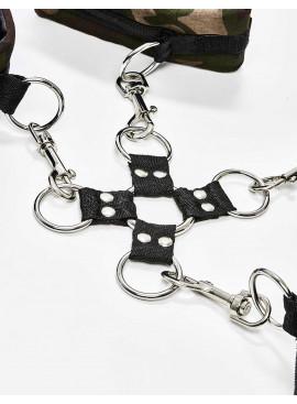 Menottes Colt Camo Hog Tie détail