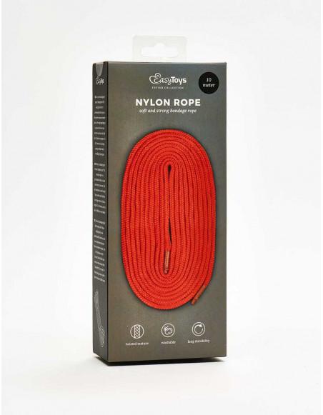 corde de bondage nylon rouge packaging