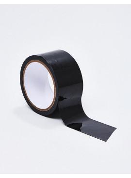 Ruban adhésif noir Black Bondage Tape détail