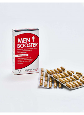 Stimulant sexuel fabriqué en France Men Booster 60 gélules détail