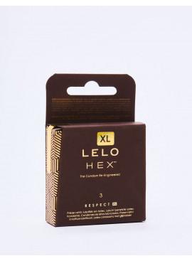 boite de 3 Préservatifs XL LELO HEX Respect
