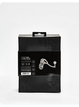 Cage de chasteté en métal Metal packaging dos