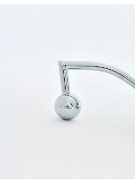 Cage de chasteté en métal Metal détail plug anal