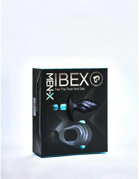 Pack Plug vibrant & Cockring vibrant ROCKS OFF Ibex Men-X packaging