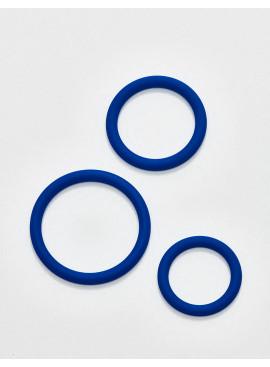 Pack Anneaux Péniens bleu