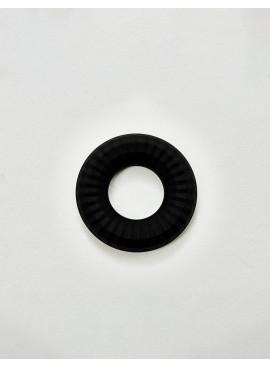Cockring Liquid Silicone Nitro noir vue de dessus