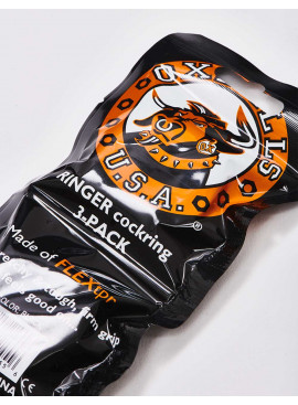 Pack de 3 Cockrings OXBALLS packaging détail