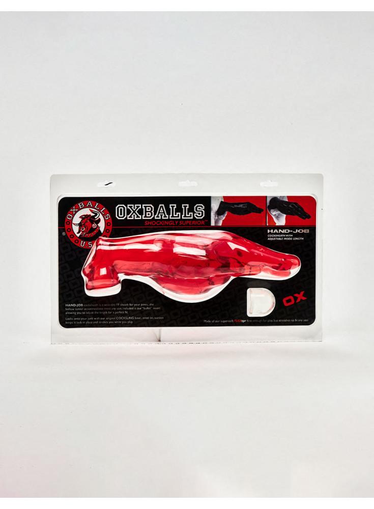 extenseur à pénis handjob oxballs packaging
