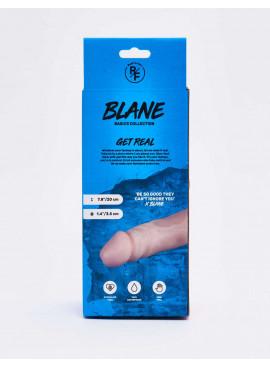 Gode réaliste Blane packaging dos
