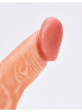 Gode réaliste Kevin 19,5cm détail gland