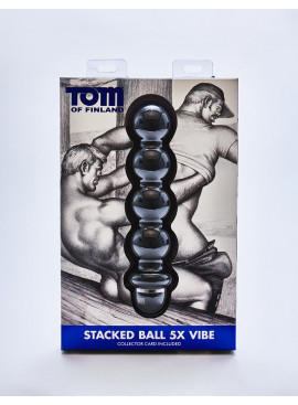 gode Tom of Finland Stacked Ball 5X packaging avant