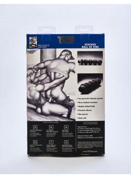 gode Tom of Finland packaging arrière
