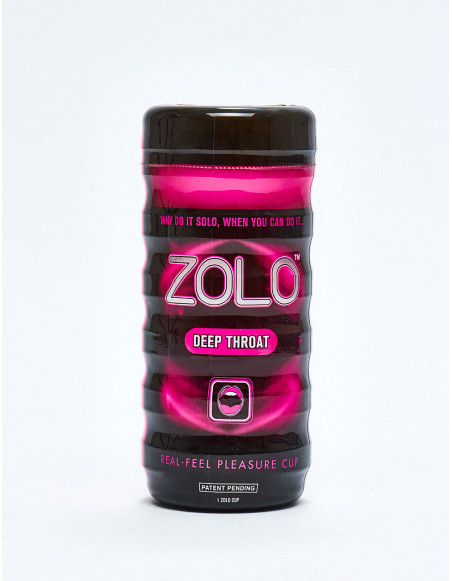 Masturbateur ZOLO - CUP DEEP THROAT packaging