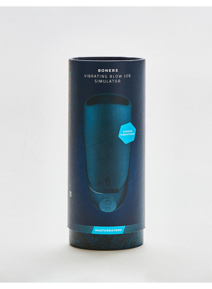 Masturbateur Vibrating Blowjob Simulator packaging