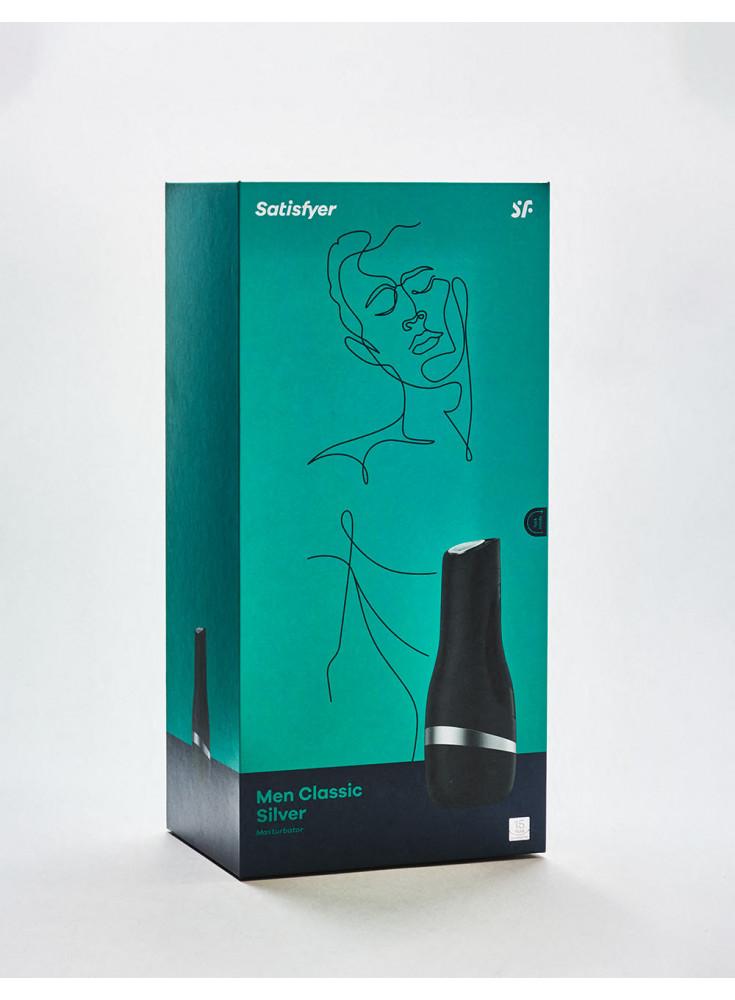 Masturbateur Satisfyer Men Classic Silver Packaging