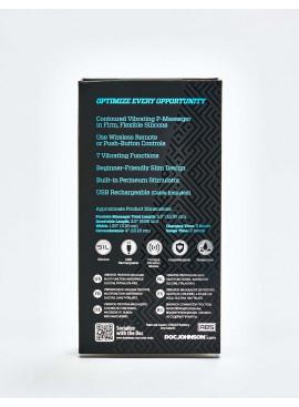 Stimulateur de prostate OptiMALE P-Curve packaging dos