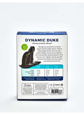 Stimulateur de prostate Dynamic Duke packaging dos