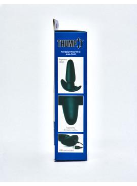 Plug Anal Noir Thump-It Silicone packaging coté