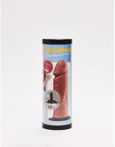 Kit de moulage de gode réaliste avec ventouse packaging