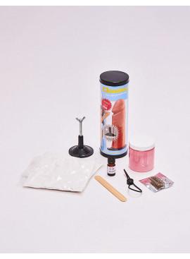 Kit de moulage de gode réaliste avec ventouse