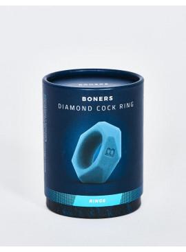 Cockring en silicone Boners en forme de diamant packaging