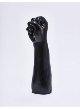 Gode XL en forme de fist de 29 cm debout