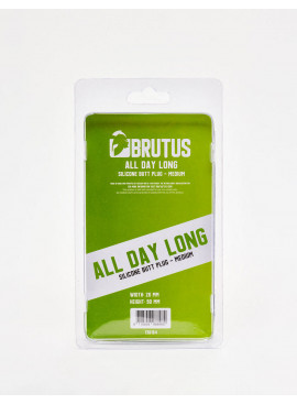 Plug Anal Brutus taille M dos packaging